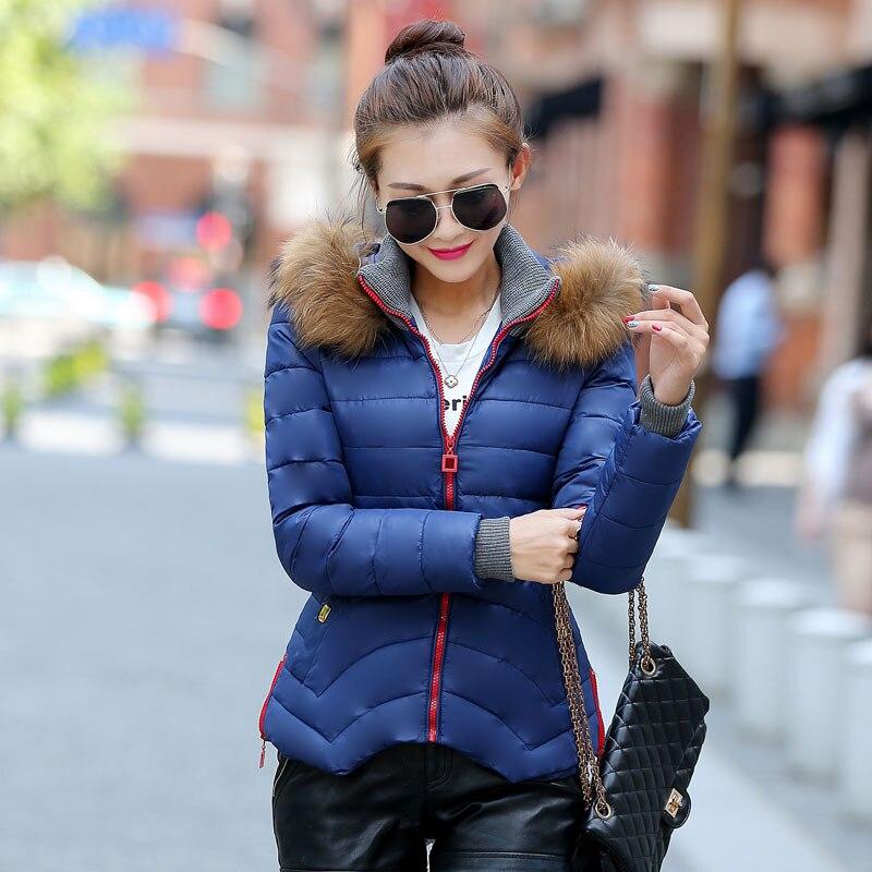 ФОТО Nagymaros Hooded Parka Abrigos Mujer Cotton-padded Slim Warm Autumn Irregular Hem Plus Size Thicken Artificial Wool Coat