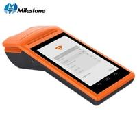 Milestone 5,5 дюймов Сенсорный экран планшета Wirelss Портативный Android Bluetooth 58 мм Термальность принтер MHT V1s POS Системы