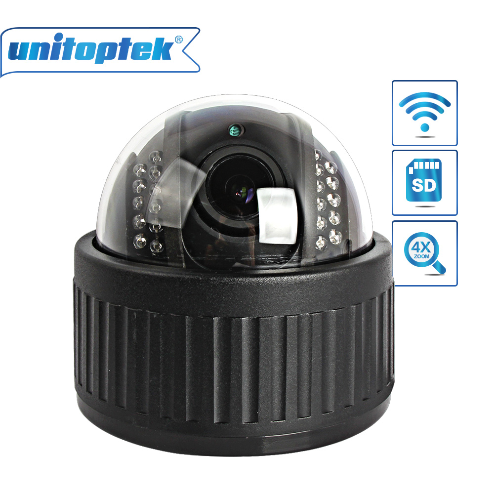 HD 960P 1080P Wireless Dome PTZ IP Camera Wifi Security CCTV Onvif 4X Zoom 2.8-12mm Lens Auto Focus Audio SD Card Night Vision hd 720p 3 6mm auto zoom lens dome security cctv wireless ip camera wifi pan tilt ir cut onvif night vision micro sd card