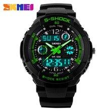 Nuevo S Choque Relojes de Moda Hombres Deportes Relojes Analógico Digital Alarma Multifuncional Skmei Reloj Militar Del Relogio masculino