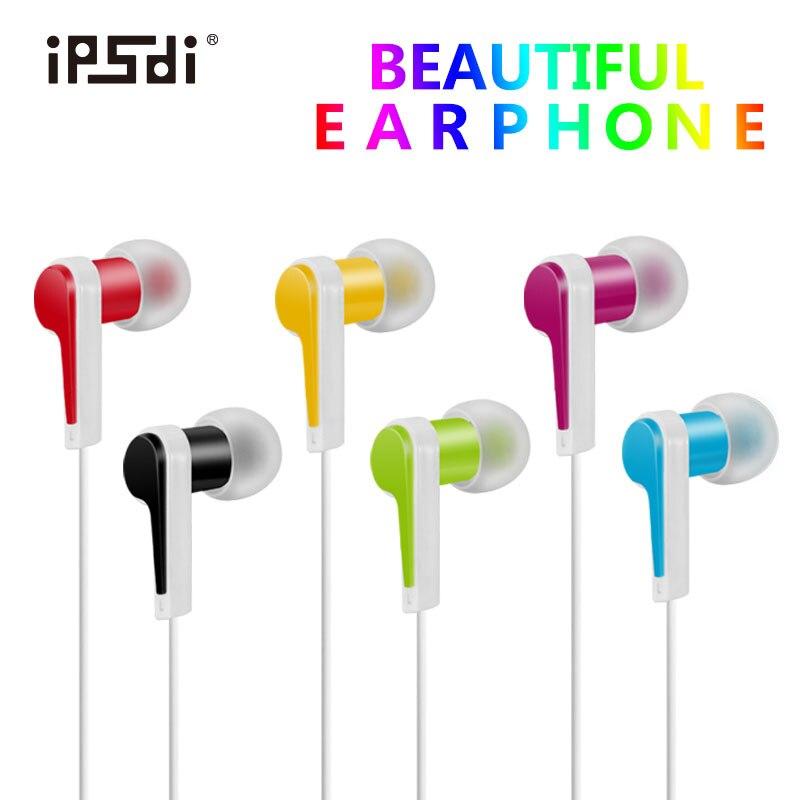 Ipsdi Professional In Ear Earphone Heavy Bass Sound Quality Music Earphone China S High End Brand