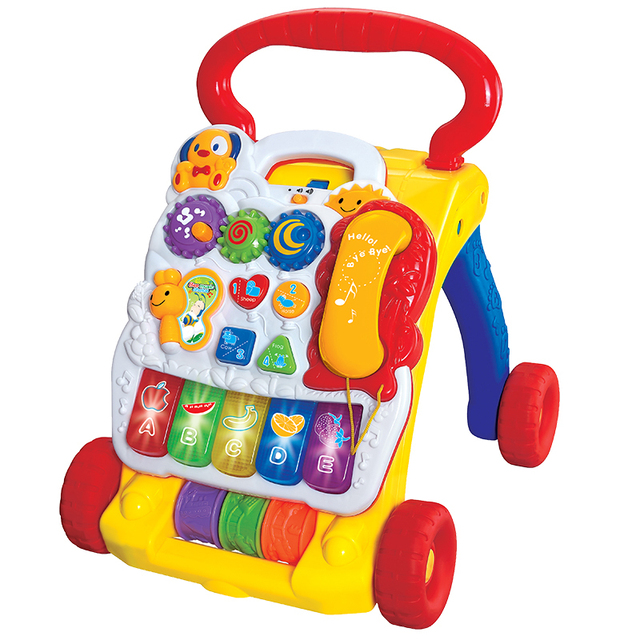 8b772bc05813 Free shipping Discovering Music Baby Walker And Sit to Stand Baby ...