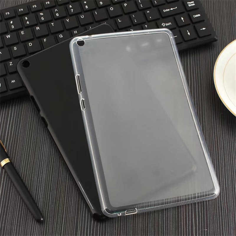 "MDFUNDAS Case For Huawei MediaPad T3 8.0"" KOB-L09 KOB-W09 Ultra Thin Dirty Transparent TPU Tablet PC shell For Huawei T3 Cover"