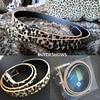 Horsehair Belt With Leopard Pattern Belt 2