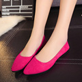 Ladies Shoes Ballet Flats Women Flat Shoes Woman Ballerinas Black Large Size Casual Shoe Sapato Womens Loafers Zapatos Mujer 376