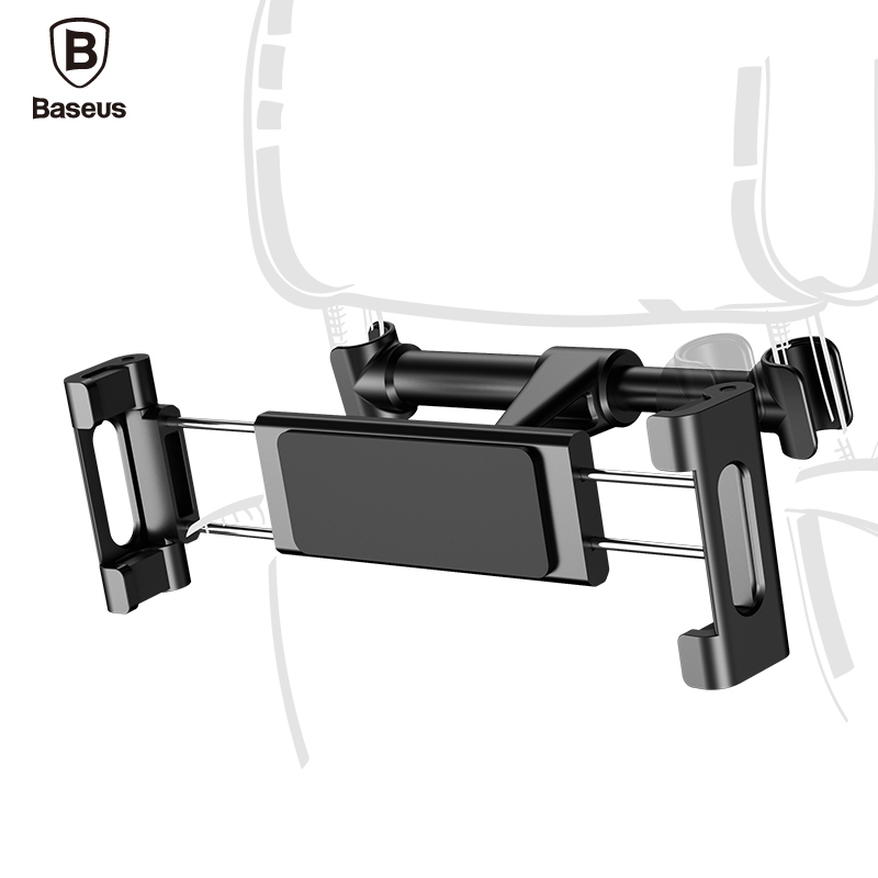 Baseus Back Seat Car Mount Holder Mobile Phone Stand For iPhone 7 iPad 2 3 4 Air 5 Air 6 iPad Mini 1 2 3 Tablet Samsung Bracket