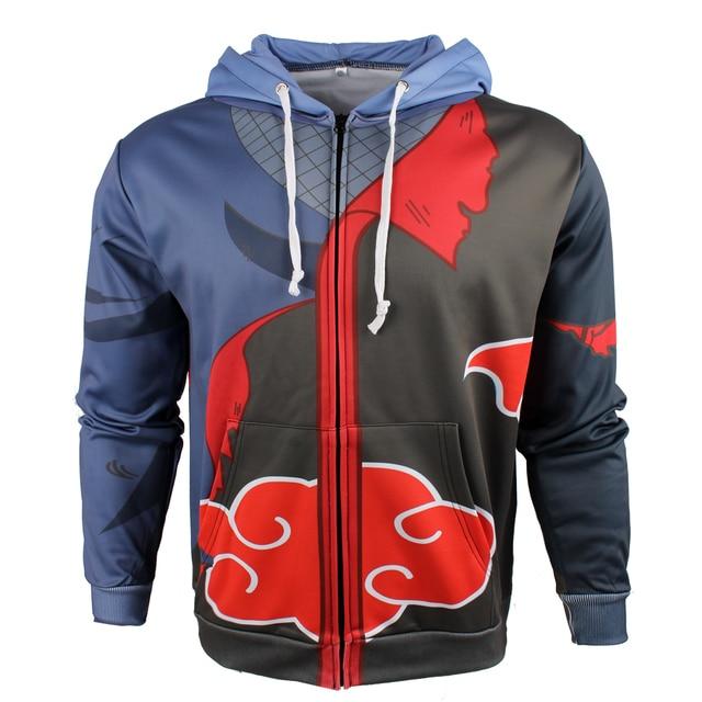 Naruto 3D Sweatshirt Hoodie (New Design)