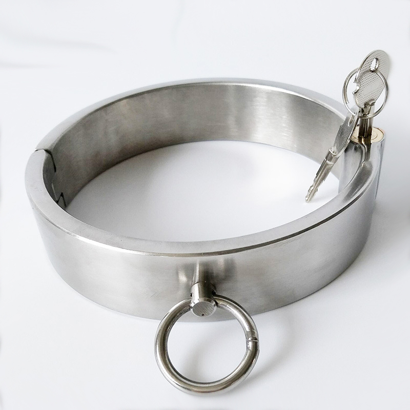 Steel collar heavy bdsm