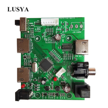 Lusya HDMI/MHL IIS I2S HDMI IIS alıcı kurulu ayrı özü ses I2S/DSD/optik/koaksiyel dönüştürücü anahtarlama paneli T0731