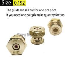 WEDM Parts Ruby Water Nozzle 0.192mm for CNC EDM Ruijun Machine