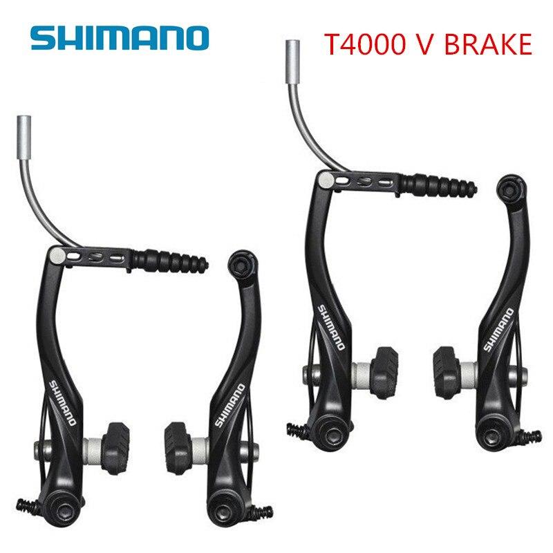 shimano BR-T4000 Acera BR-T4000 V-Brake Set MTB Upgraded BR-M422 FRONT AND REAR SET Black(China)