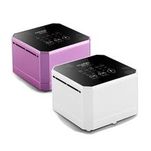 Nobico generador de iones negativos purificador de aire para el hogar, con filtro HEPA verdadero, Mini ionizador de aire de escritorio, limpiador de aire compacto para el hogar