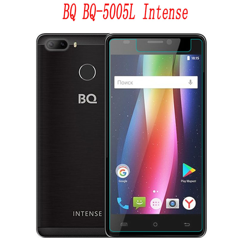 Smartphone Tempered Glass for <font><b>BQ</b></font> <font><b>BQ</b></font>-<font><b>5005L</b></font> <font><b>Intense</b></font> <font><b>5005L</b></font> 9H Explosion-proof Protective Film Screen Protector cover phone image