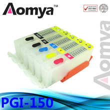 With chip PGI 150 CLI 151 Empty Refillable Cartridge For CANON PIXMA MG5410 MG5510 MG5610 MG6310