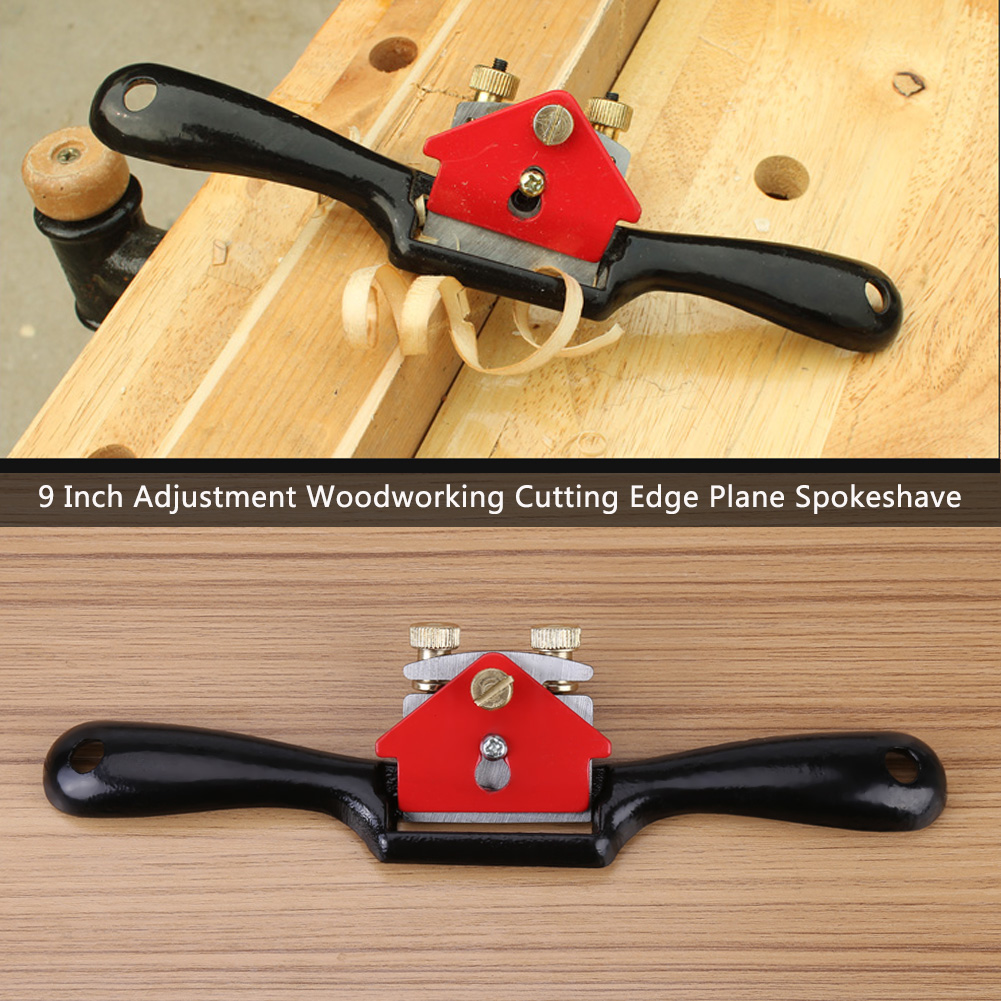 Hand Planer CONSTR Hand Tools,Adjustable Hand Planer Manual Woodworking Wood Cutting Edge Plane Spoke Shave