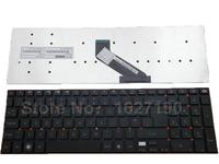 New UK Keyboard Laptop for GATEWAY NV55 BLACK Laptop Keyboards With Free Shipping PN:MP-10K36GB-698 PK130HQ1A08
