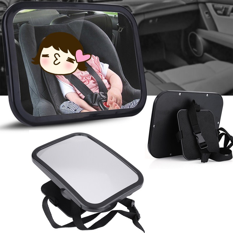 Car Safety Easy View Back Seat Mirror Baby Facing Rear Ward Child Infant Care Square Saf ...