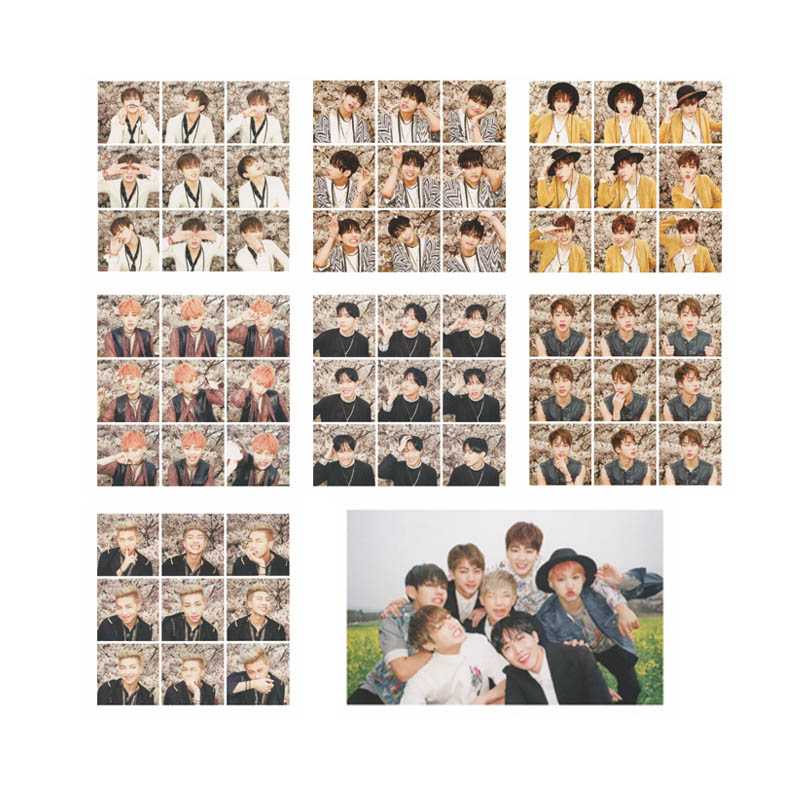 Youpop KPOP BTS Bangtan Boys Young Forever PT.1 I NEED U Album Photo Card HipHop Self Made Paper Cards Autograph Photocard XK569 bts 4th bts 4th mini album pt 2 peach version blue version set 2ea lot photobook 98p 1photocard 2015 12 01 kpop album
