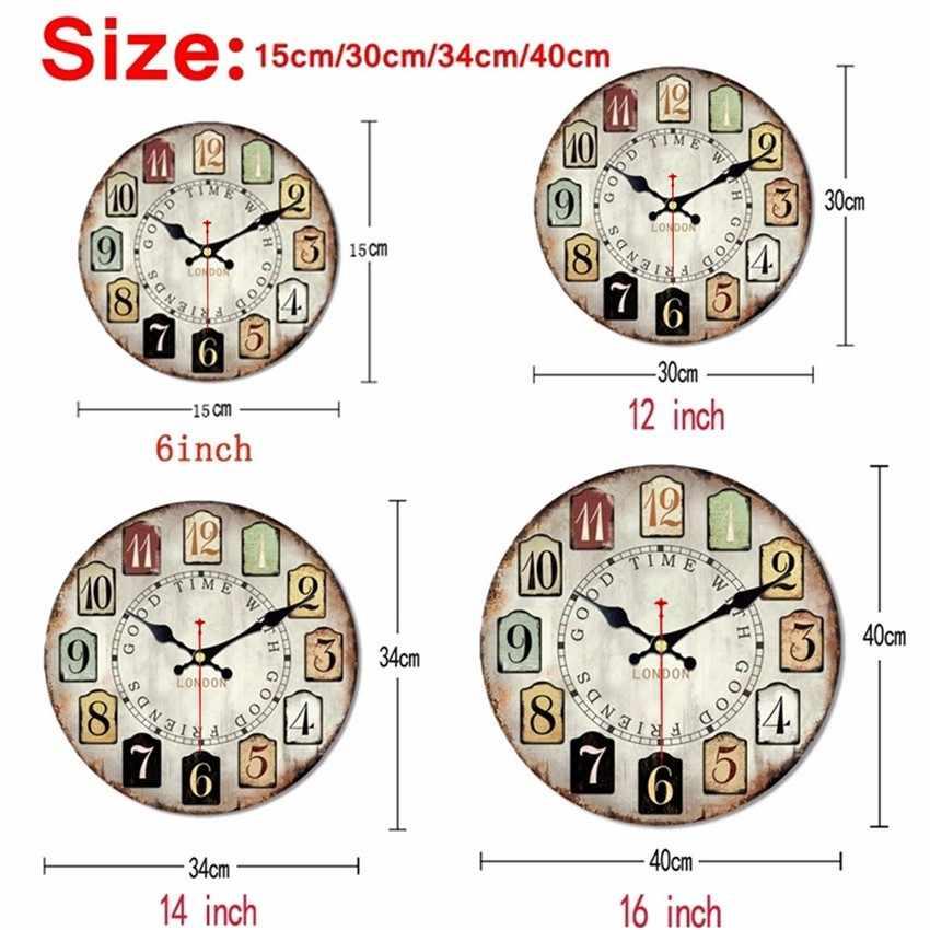 Shabby Chic,Lovely Dog Wall Clocks,Vintage Wall Clock,Wall Watches Home Decor,Big Animal Wall Clock