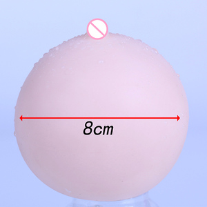 Image 4 - Breast Protheses 8CM in diameter Silica Gel Spherical 1PC