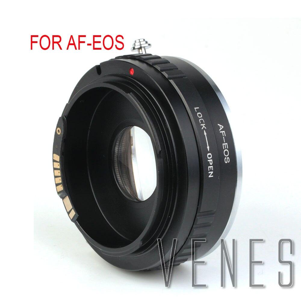 Venes For AF EOS EMF AF Confirm Suit For Sony Alpha Minolta MA Lens to Canon