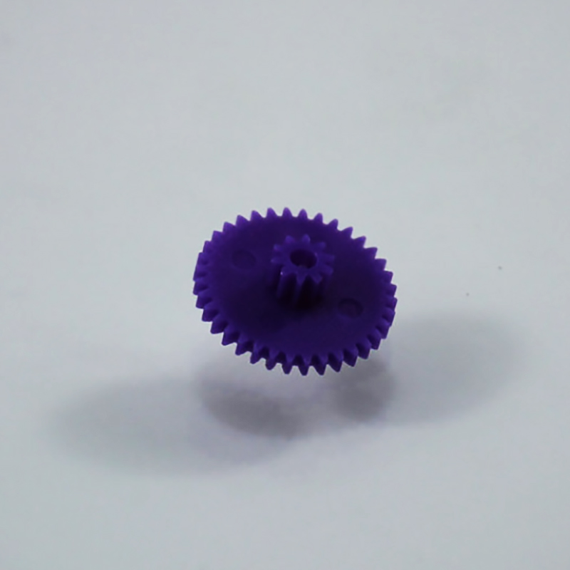 30pcs 0.4M 36+10teeth Double plastic Motor gear/diy toys accessories/baby toys/Technology production accessories 36102b