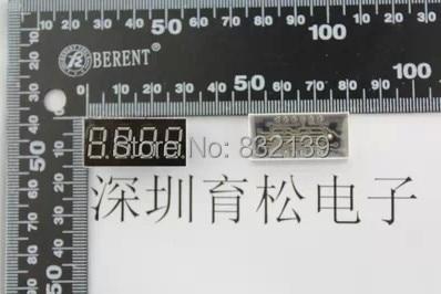 Бесплатная доставка 50 шт./лот 0.36 дюйм(ов) четыре Цифровых трубка/Nixie трубки общим катодом красный 3461 12PIN