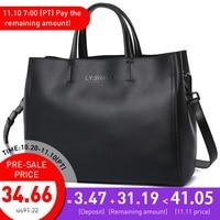LY.SHARK Ladies' Genuine Leather Handbag Women's Bags Over Their Shoulders Women Messenger Bags Women Handbags Shoulder Bag