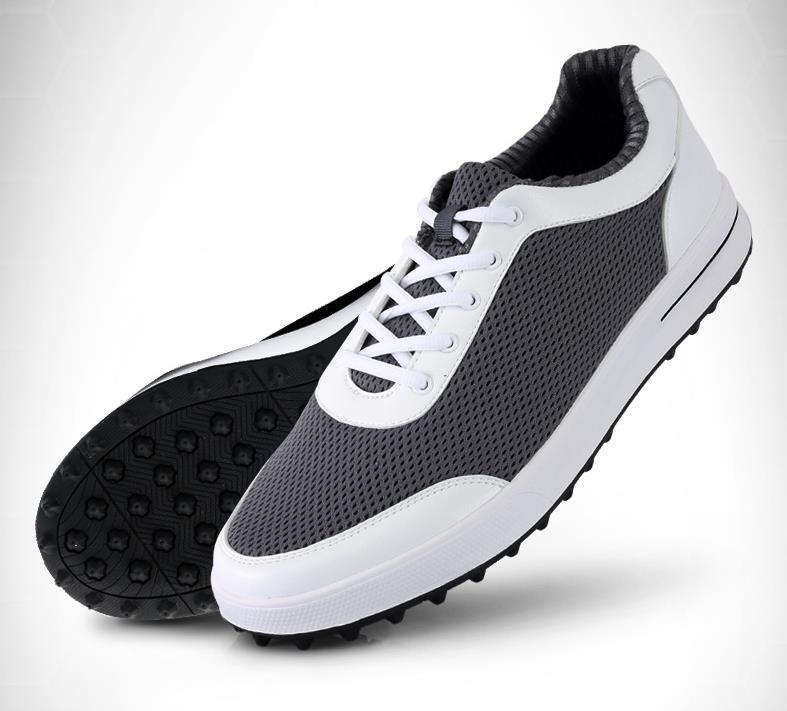 PGM new style in summer High quality men golf shoes ultra light breathable no crease net cloth  Professional training shoe