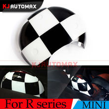 Для Mini Cooper Checker Тахометр Обложка В виде ракушки автомобиля Салонные Аксессуары Fit R55 R56 r57 R58 R59 R60 Countryman Clubman