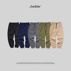 Image 5 - Мужские джоггеры SODAWATER, уличная одежда сезона осень зима 2019, раньше, мужские повседневные однотонные брюки в стиле хип хоп, тренировочные штаны 93353 Вт
