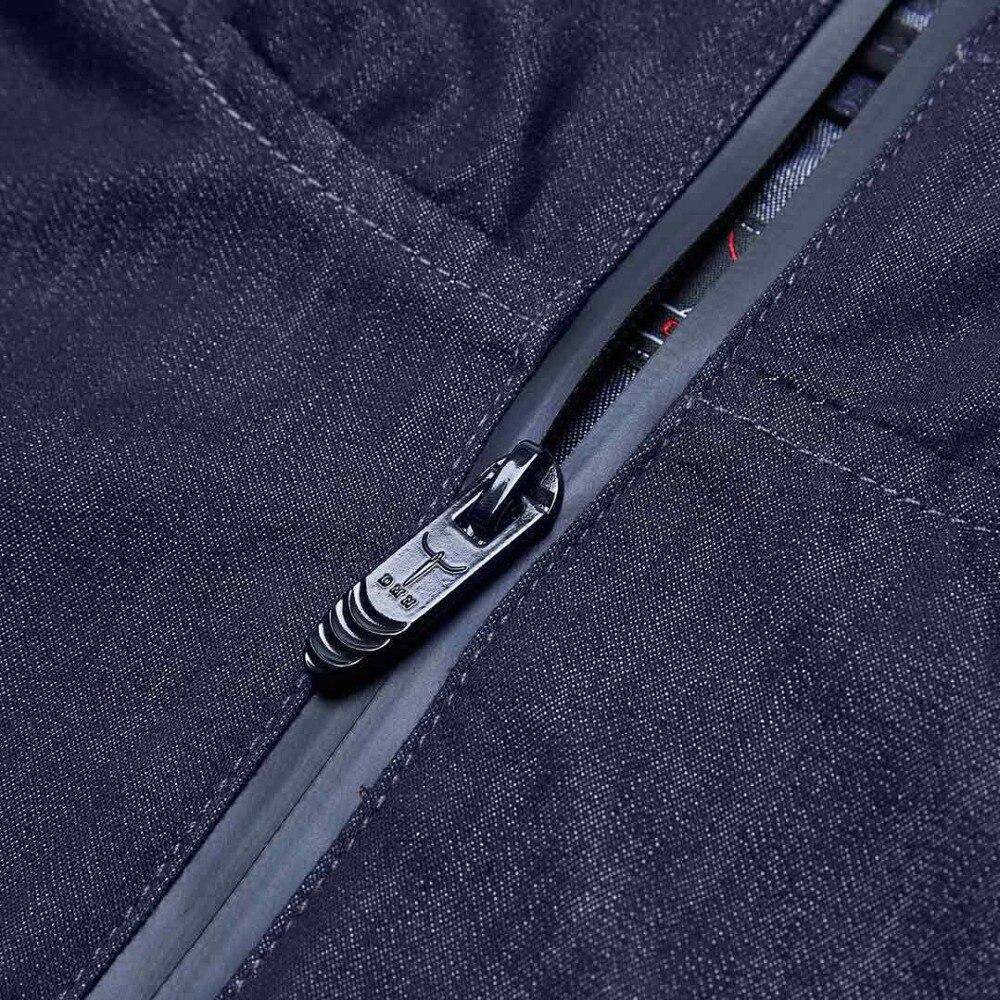 jaqueta casual masculino casaco de algodão