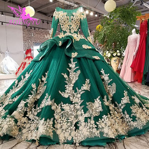 Image 4 - AIJINGYU ガーデンウェディングドレス白ガウンプラスサイズイスラム教徒高級新 Dres ゴシックゴージャスなウェディングドレス価格