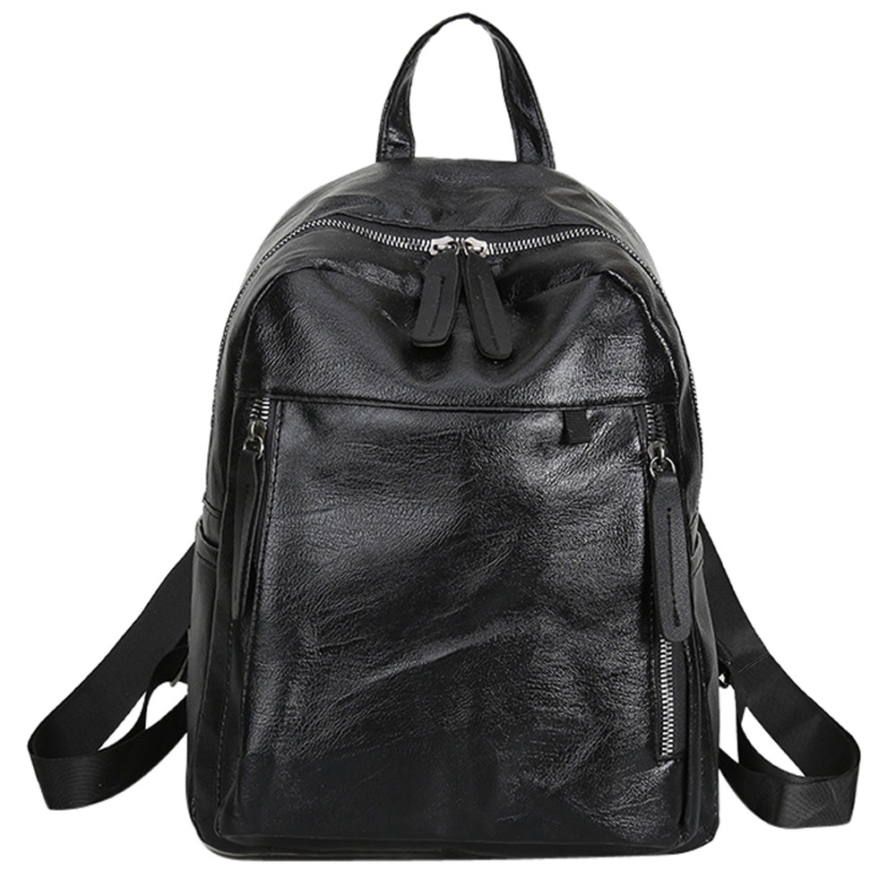 2018 Hot Sale Backpacks Mens Womens Leather Backpack Laptop Satchel Travel School Rucksack Bag mochila feminina rucksack S