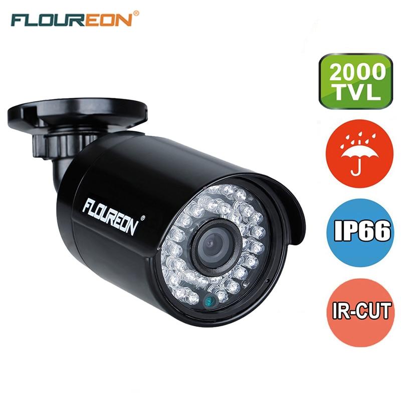 bilder für FLOUREON 960 P AHD 1.3MP 2000TVL Überwachungskamera Nachtsicht Wasserdichte Outdoor CCTV DVR Überwachung Cctv-kamera