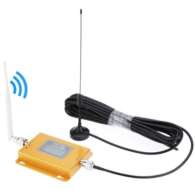 Мобильный Телефон Усилитель Сигнала DCS 1800 МГц Телефон Усилитель Сигнала/ЖК-Сигнал Повторителя с Присоской Антенны