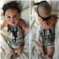 Clothing newborn baby girl boy camuflaje halter mono mono infantil de los bebés del verano traje de verano ropa sunsuit