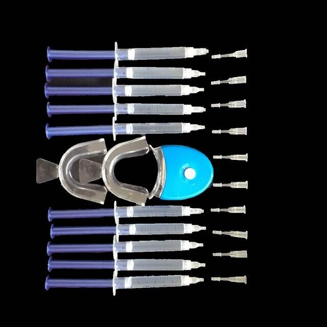 Professional Teeth Whitening 44% Peroxide Dental Bleaching System Oral Gel Kit Tooth Whitener Dental Bleaching Set WA822 T50
