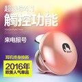 New Style Mini Bluetooth Sem Fio do Fone de ouvido da Mulher Ear Gancho Fone de Ouvido Sem Fio Esporte fone de Ouvido Bluetooth SmartTouch Com Comando de voz