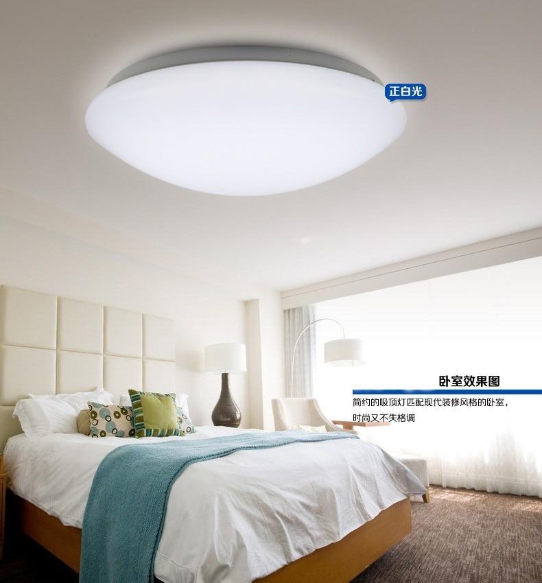 ФОТО 2017 NEW LED Ceiling light 15W Dia 35CM kids ceiling flush retro acrylic kitchen modern livingroom Bedroom abajur Free Shipping