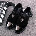 NEW British fashion shoes a pedal Korean shoes men's casual shoes loafers men shoes SIZE 38--43
