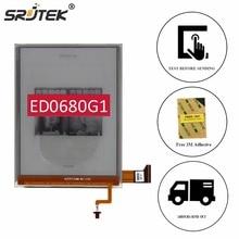 Srjtek 6 «части для ED068OG1 ED0680G1 для Кобо аура H2O чтения электронных книг ЖК-дисплей Дисплей с Подсветка замена кабеля