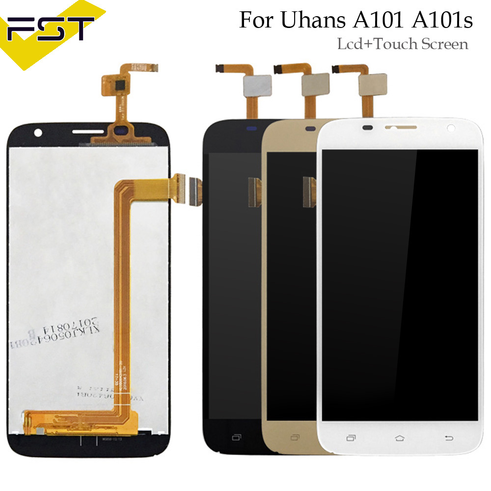 Per Uhans A101 A101s Display LCD + Touch Screen Digitizer Assembly Per A101 A101s Display LCD Parti di Ricambio Con StrumentiPer Uhans A101 A101s Display LCD + Touch Screen Digitizer Assembly Per A101 A101s Display LCD Parti di Ricambio Con Strumenti