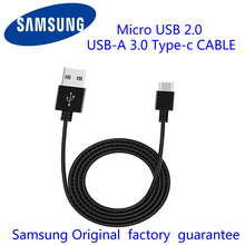 100% Original Samsung Micro USB 2.0 USB 3.0 Type-C fast Charging Data Cable Converter for S8 S6 s4 note7 note4 note3