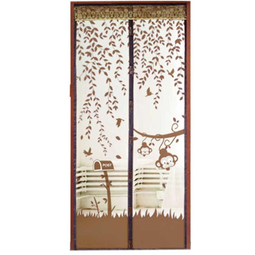 New Qualified Summer Prevent Mosquito Curtain Portiere Screen Door Magnetic Magnet Scenery Levert Dropship dig683