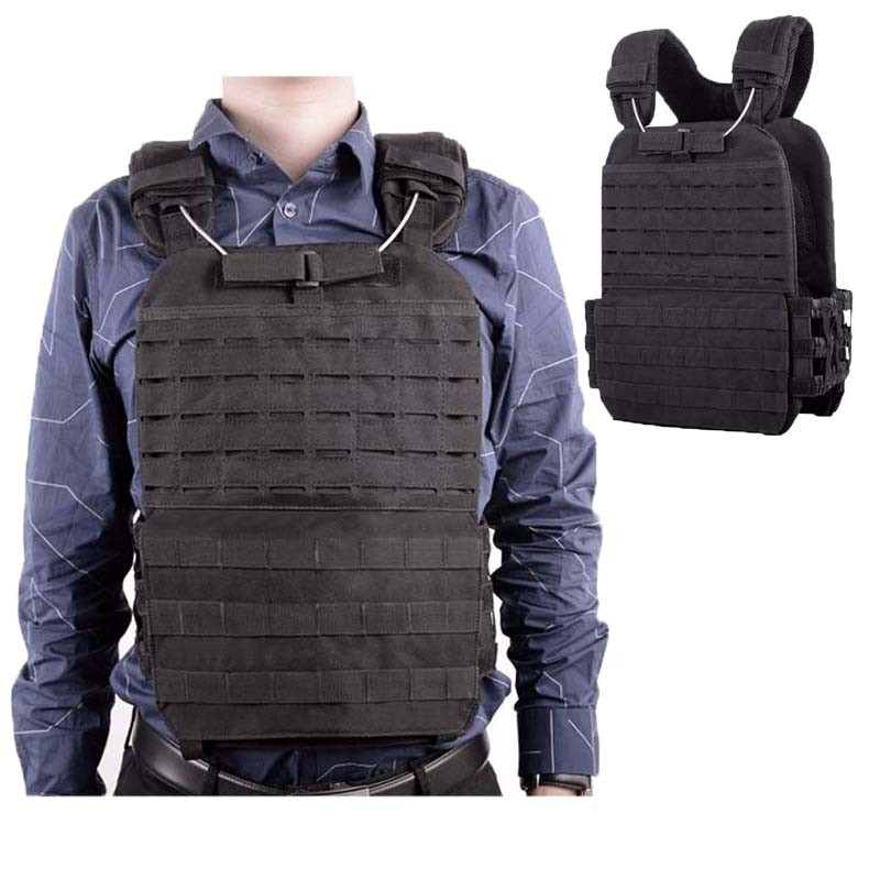 Tactical Adjustable Vest Military Airsoft Molle Waistcoat Combat Assault Plate Carrier Vest Hunting Protect Outdoor Equipment цены
