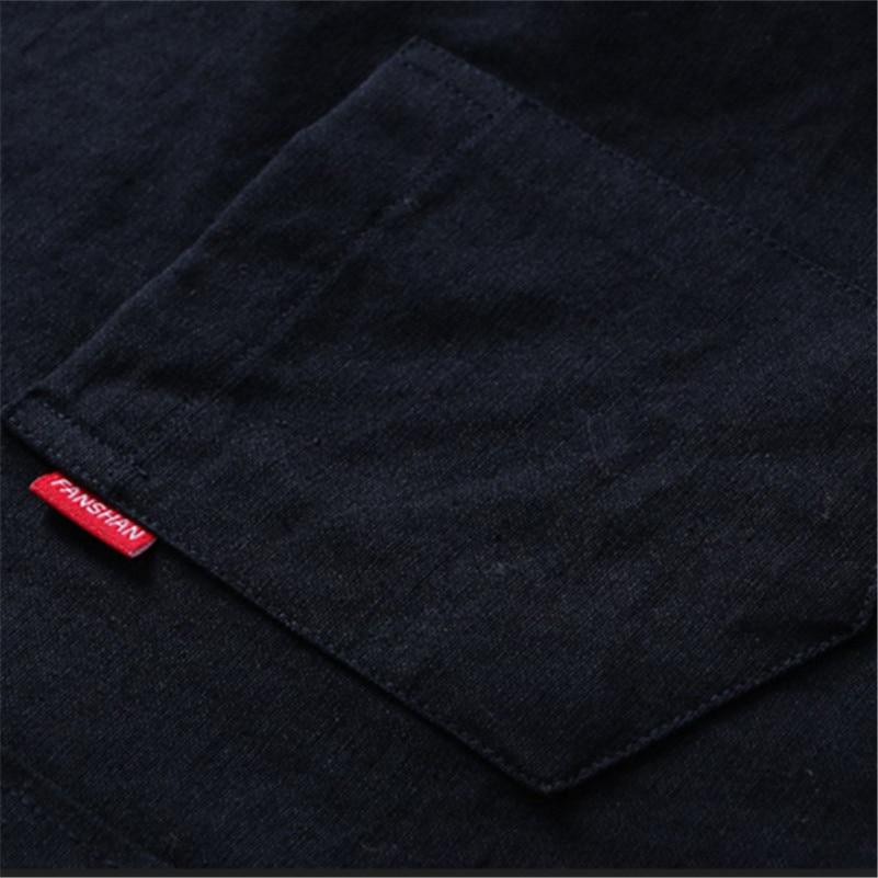VISADA JAUNA Camisa de negocios de los hombres 2017 camisas de los - Ropa de hombre - foto 5