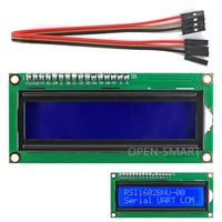 I2C IIC LCD 1602 Display Module With White Backlight For Arduino Raspberry Pi AVR ARM