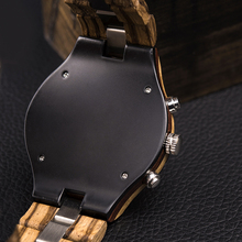 Relogio Masculino BOBO BIRD Watch Men Wood Luxury Stylish Timepieces Chronograph Military Quartz Watches Men's Great Gift