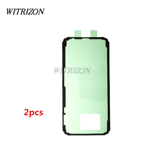super popular 38194 21d2d US $4.49 10% OFF|2pcs Original Back Cover Adhesive Sticker for Samsung  Galaxy A5(2017); Battery Cover Housing Door Glue Tape for Galaxy A5(  2017)-in ...